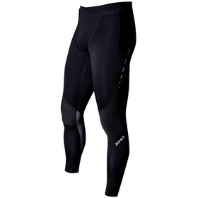 Zone3 Compression Collant Femme, black/grey/gun metal